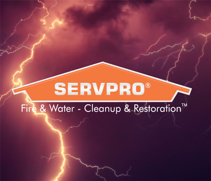 SERVPRO logo with lightning bolts
